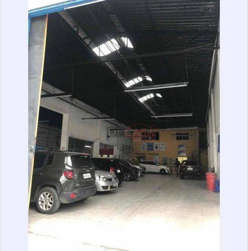 Imagem 1 de 12 de Galpão Para Alugar, 1800 M² Por R$ 25.000,00/mês - Itaquera (zona Leste) - São Paulo/sp - Ga0052