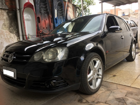 Vw Golf Gti 1.8 Turbo 193cv 2008-manual -couro -rodas 17