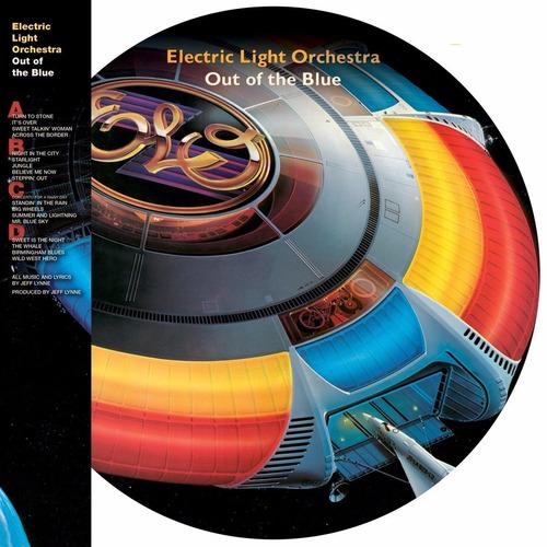 Imagen 1 de 3 de Electric Light Orchestra Out Of The Blue Vinilo Doble Pictur