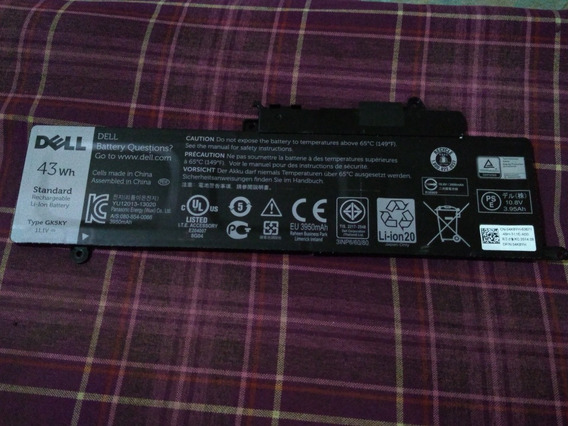 Bateria Para Notebook Dell Inspiron 11-3147