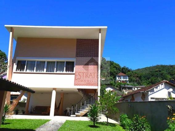Casa Com 3 Dormitórios À Venda, 270 M² Por R$ 1.200.000 - Quitandinha - Petrópolis/rj - Ca0293