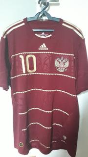 Camisa Arshavin Russia 2009 Home Original Raríssima