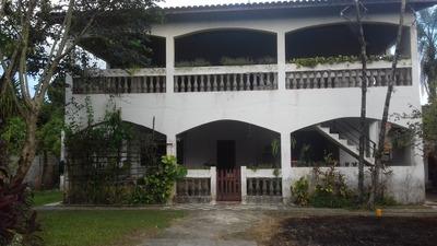Chácara Com Sobrado No Umuarama- Itanhaém, Ficando A 1,5 Km
