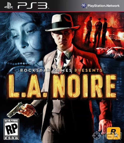 Jogo L.a. Noire Ps3 Game Original Lacrado
