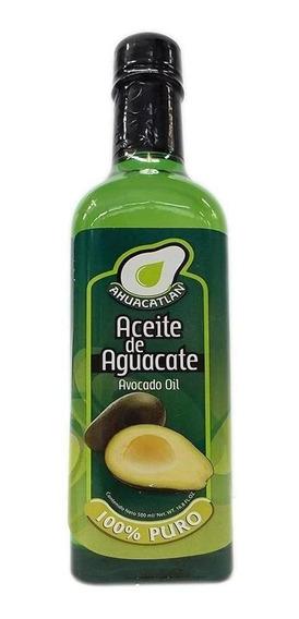 Ahuacatlán Aceite De Aguacate Botella 1l