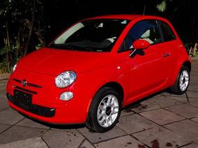 Fiat 500 Cult 2014 Vermelho Flex