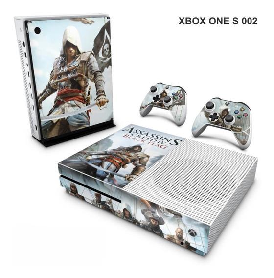Skin Adesiva Para Xbox One S (slim) - Assassin