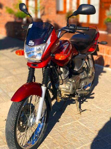 Kawasaki Wind 125 Rojo (impecable)
