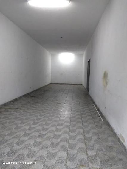 Salão Comercial Para Locação Em Taboão Da Serra, Jardim Maria Rosa, 1 Dormitório, 2 Banheiros - 8073