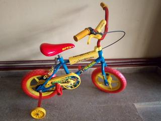 Bicicleta Rod.12 Varón De Piñon Libre.