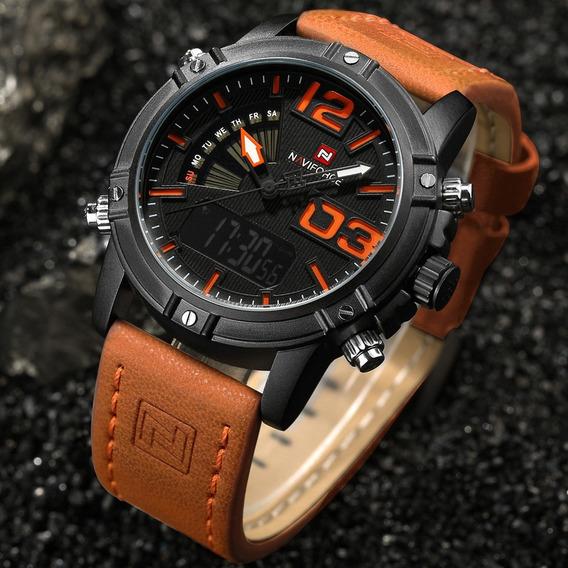 Relógio Masculino Naviforce 9095 Original