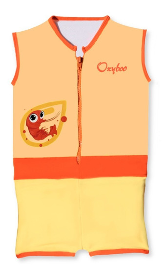 Oxyboo Kids - Traje De Baño Flotante - Jacko Anaranjado