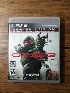 Crysis 3 Hunter Edition Playstation 3 Ps3 Buen Estado !!