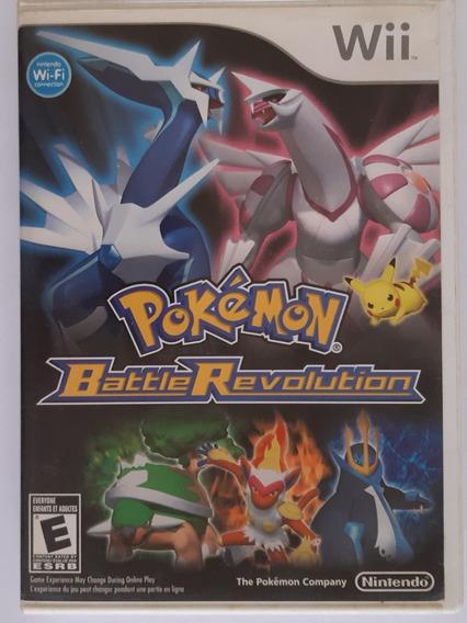 Pokemon Battle Revolution Wii Mídia Física
