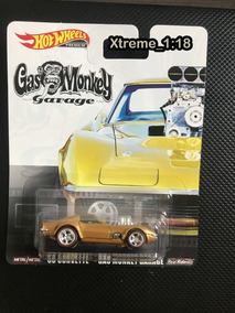 Hot Wheels 68 Corvette Gas Monkey Garage 1:64