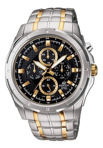 Reloj Casio Ef 328sg Multiaguja Acero Hombre 100% Original