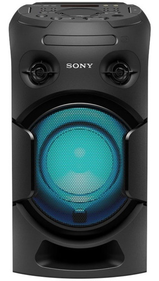 Parlante Portatil Bluetooth Mhc-v21 Con Luz Sony
