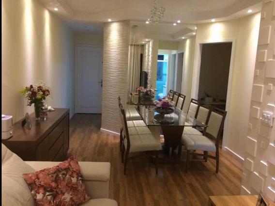 Apartamento Mobiliado Edificio Tulum 600mt Metrô Diret Propr