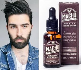 Tonico Macho Beard Company Para Crecimiento Barba Original