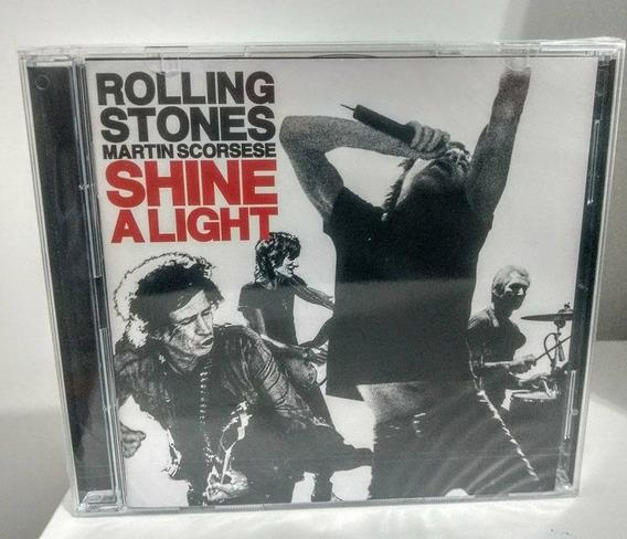 Rolling Stones - Shine A Light (cd Duplo Importado)