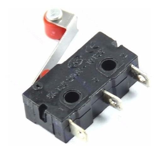 Micro Interruptor De Limite Palanca Con Rodillo 10t85 3d
