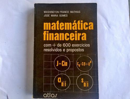 Matemática Financeira - Washington Franco Mathias