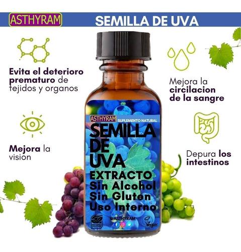 Semilla De Uva Suplemento Natural Extracto Puro 50 Ml