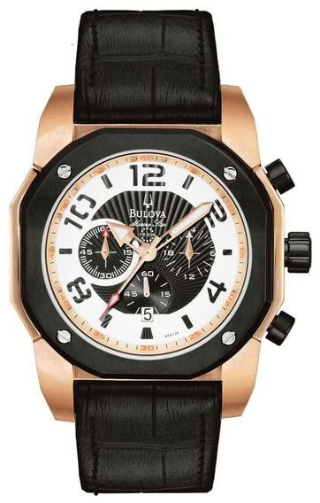 Relógio Bulova Cronógrafo Wb31050p *marine Star