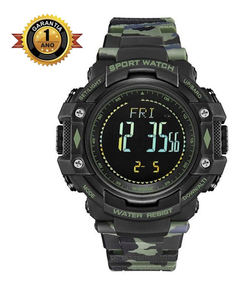 Relógio Original Esportivo Digital - Wa9j001 - Verde