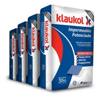 Pegamento Adhesivo Klaukol Impermeable Fluido X 30 Kg Cuotas