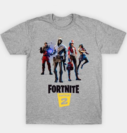 Remera Fortnite Capitulo 2 Temporada 1 Todos Los Talles