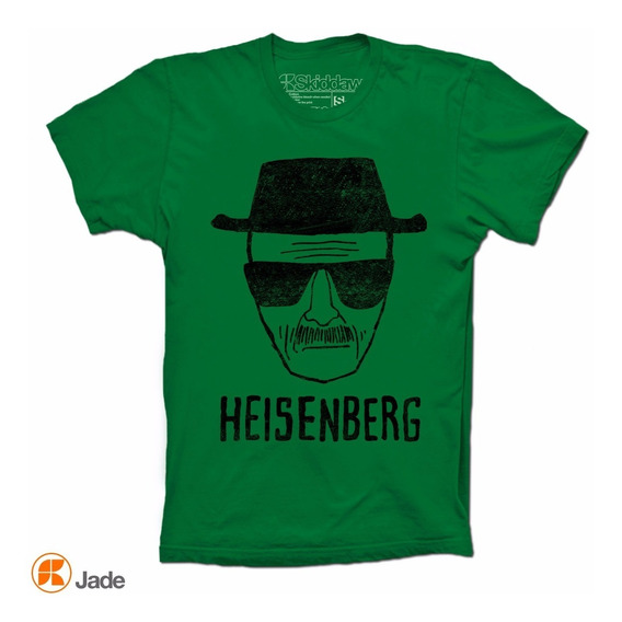 Heisenberg Breaking Bad Playera Distressed Vintage Look