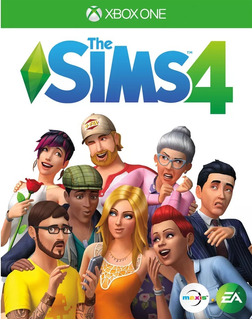 The Sims 4 Xbox One Juego Blu-ray Original Físico Sellado