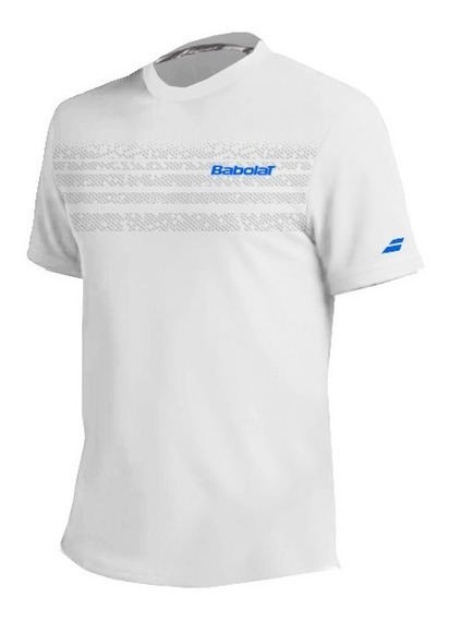 Remera Babolat Hombre T Shirt Team Blanco