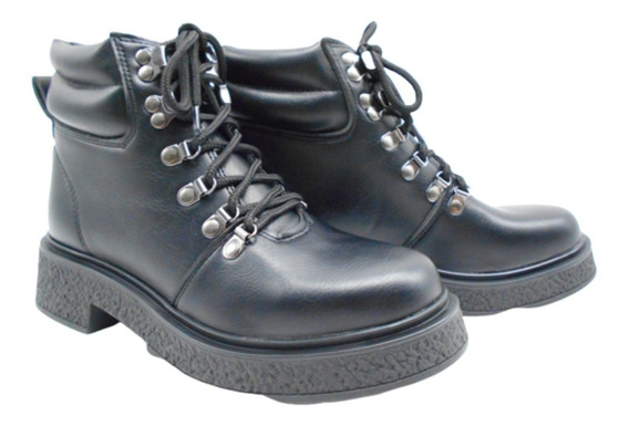 Bota Borcego Zapato Mujer Moda Savage Sp283 Ecocuero