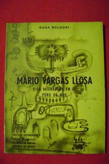 Mario Vargas Llosa Y La Literatura En Perú Hoy, Rosa Boldori