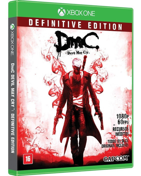 Dmc Definitive Edition - Midia Fisica Lacrado - Xbox One