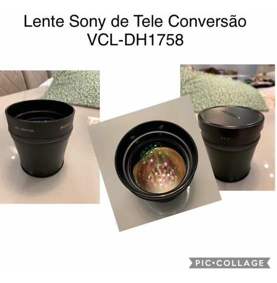Lente Sony De Tele Conversão Vcl-dh1758
