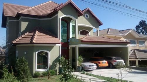 Sobrado Com 4 Dormitórios À Venda, 480 M² Por R$ 3.900.000,00 - Residencial Das Estrelas - Barueri/sp - So1012