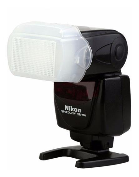 Difusor Bounce Flash Speedlight Nikon Sb-700 Sb700
