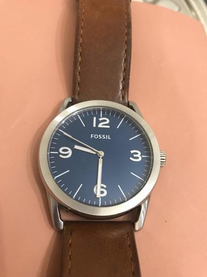 Relógio Fóssil Original, Usado, Trazido Dos Eua