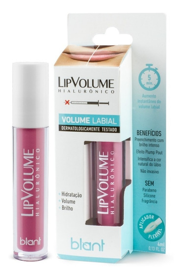 Lip Volume Blant Hialurônico Rosa 4ml