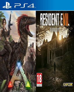 Resident Evil 7 Ps4 + Ark Survival Evolved Ps4 Udo