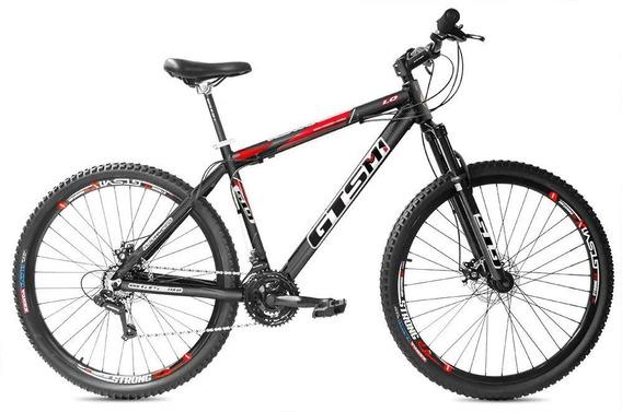 Bicicleta Gts Aro 29 Câmbio Tras. Shimano 24v Advanced 1.0