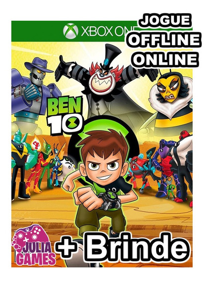 Ben 10 Em Português Br Xbox One Midia Digital + Brinde
