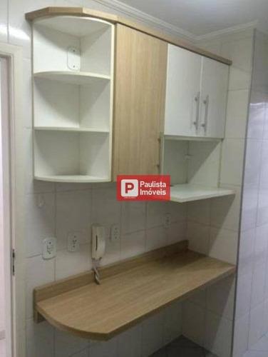 Apartamento Com 2 Dormitórios À Venda, 55 M² Por R$ 555.000 - Vila Anglo Brasileira - São Paulo/sp - Ap28305