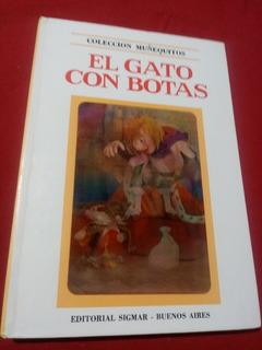 Libro El Gato Con Botas Coleccion Muñequitos Año 1972