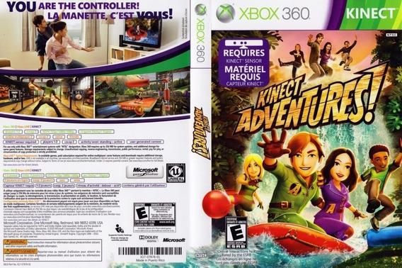 Game Xbox 360 Kinect Adventures - Lacrado - Novo - Original