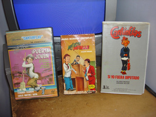 3 Pelicula Vhs Cantinflas