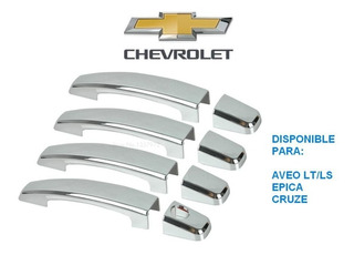 Kit Cobertor Manillas Cromadas Chevrolet Epica Aveo Lt Cruze